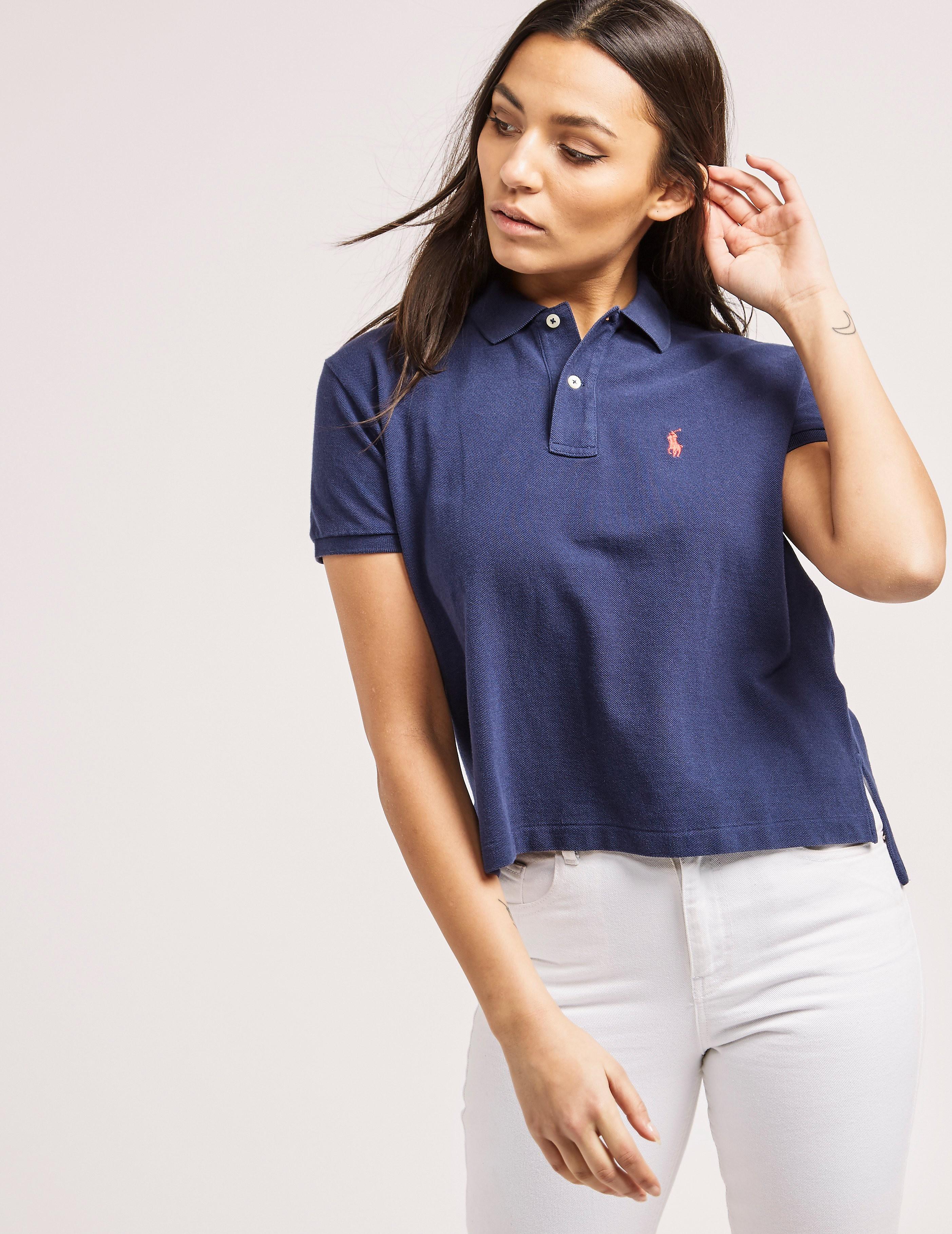 Polo Ralph Lauren Cropped Polo Shirt