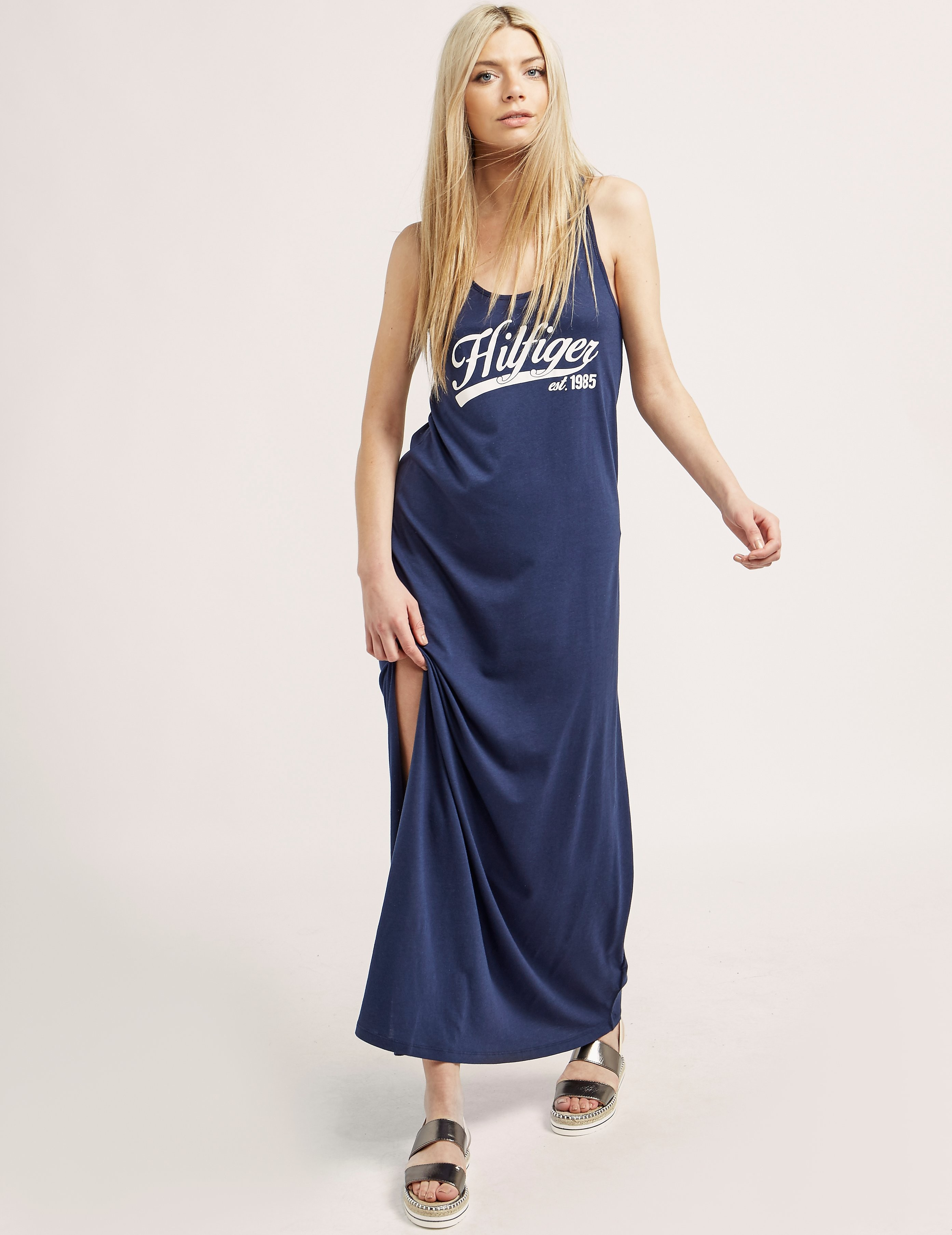 Tommy Hilfiger Logo Maxi Dress