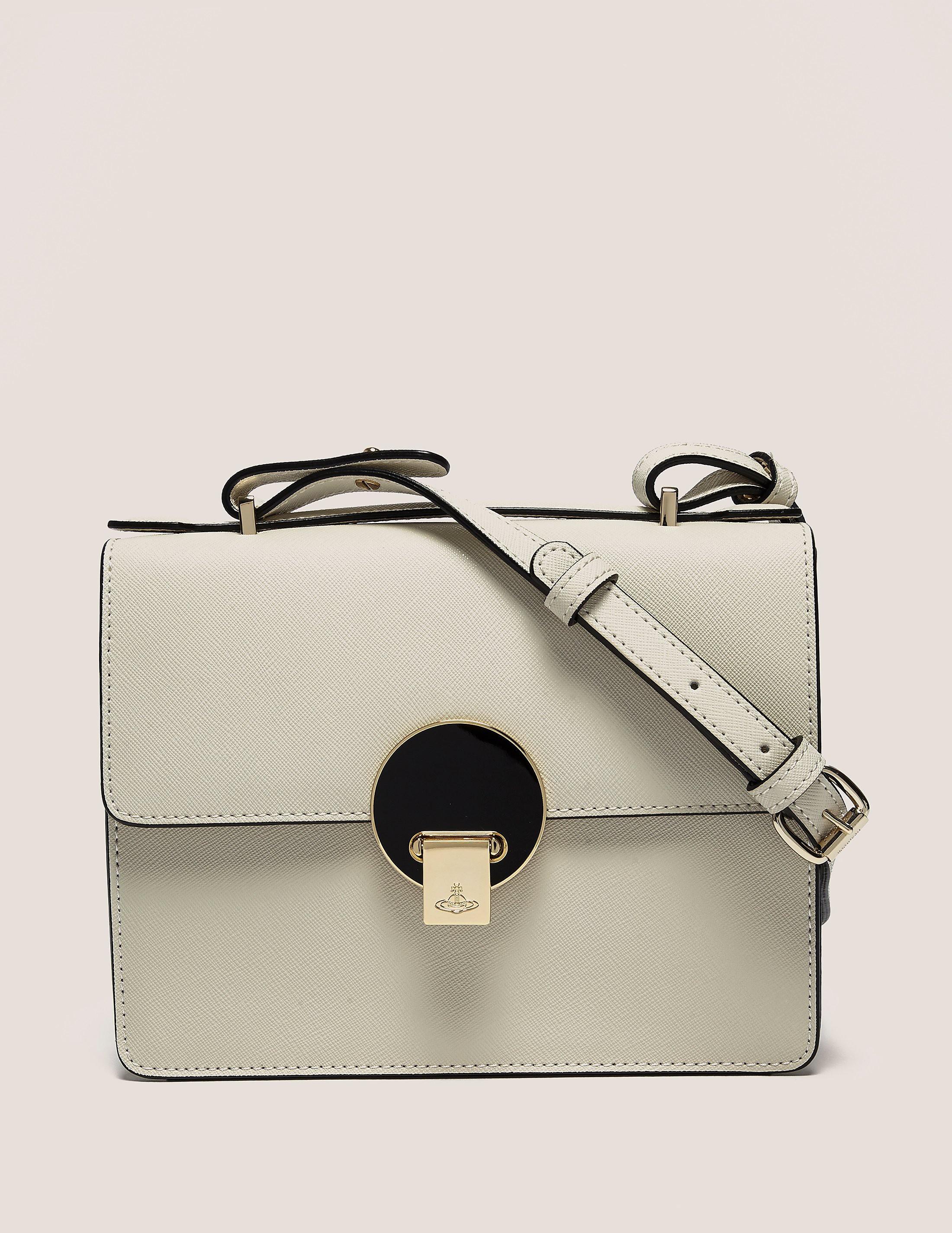 Vivienne Westwood Opio Saffiano Shoulder Bag