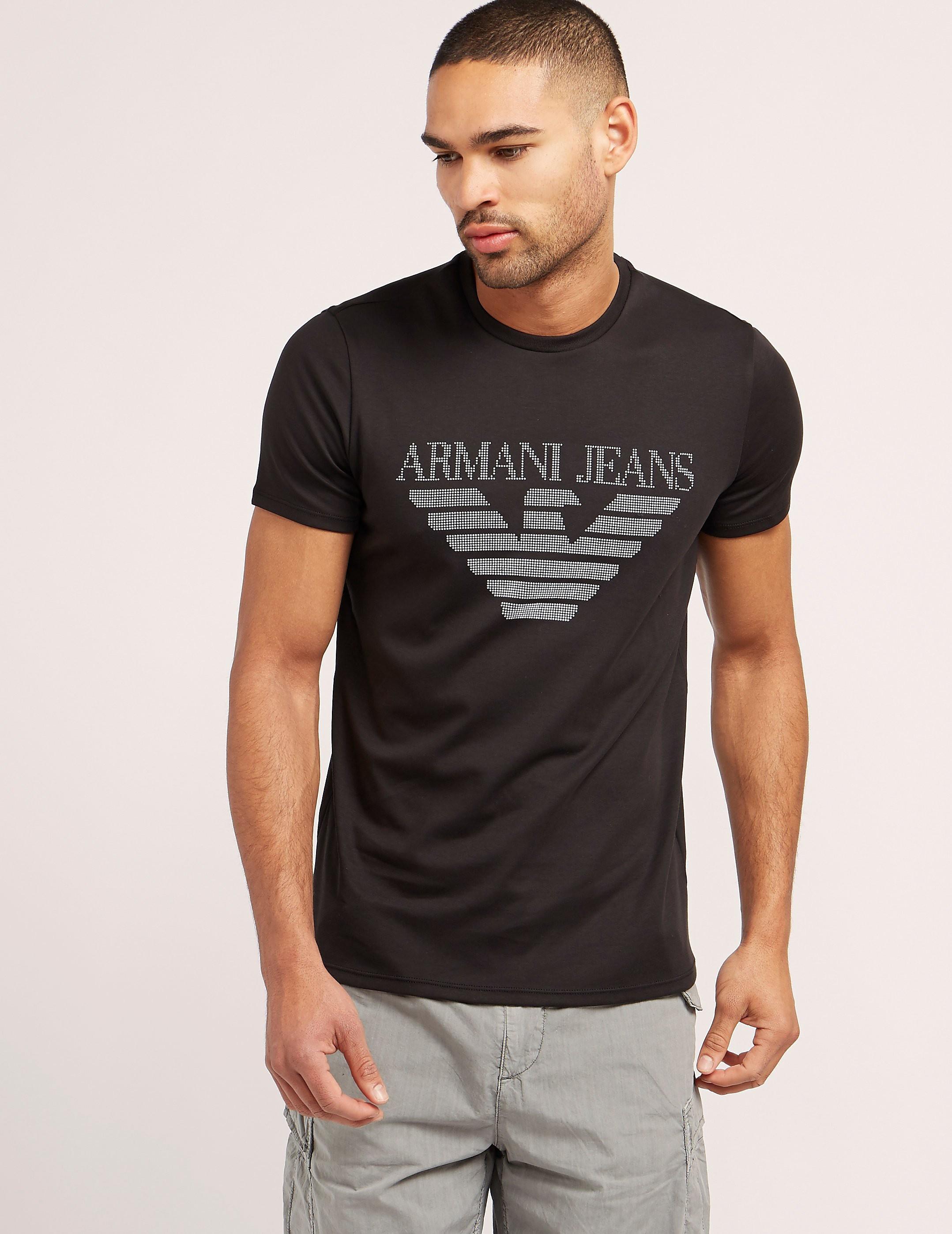 Armani Jeans Logo Short Sleeve TShirt