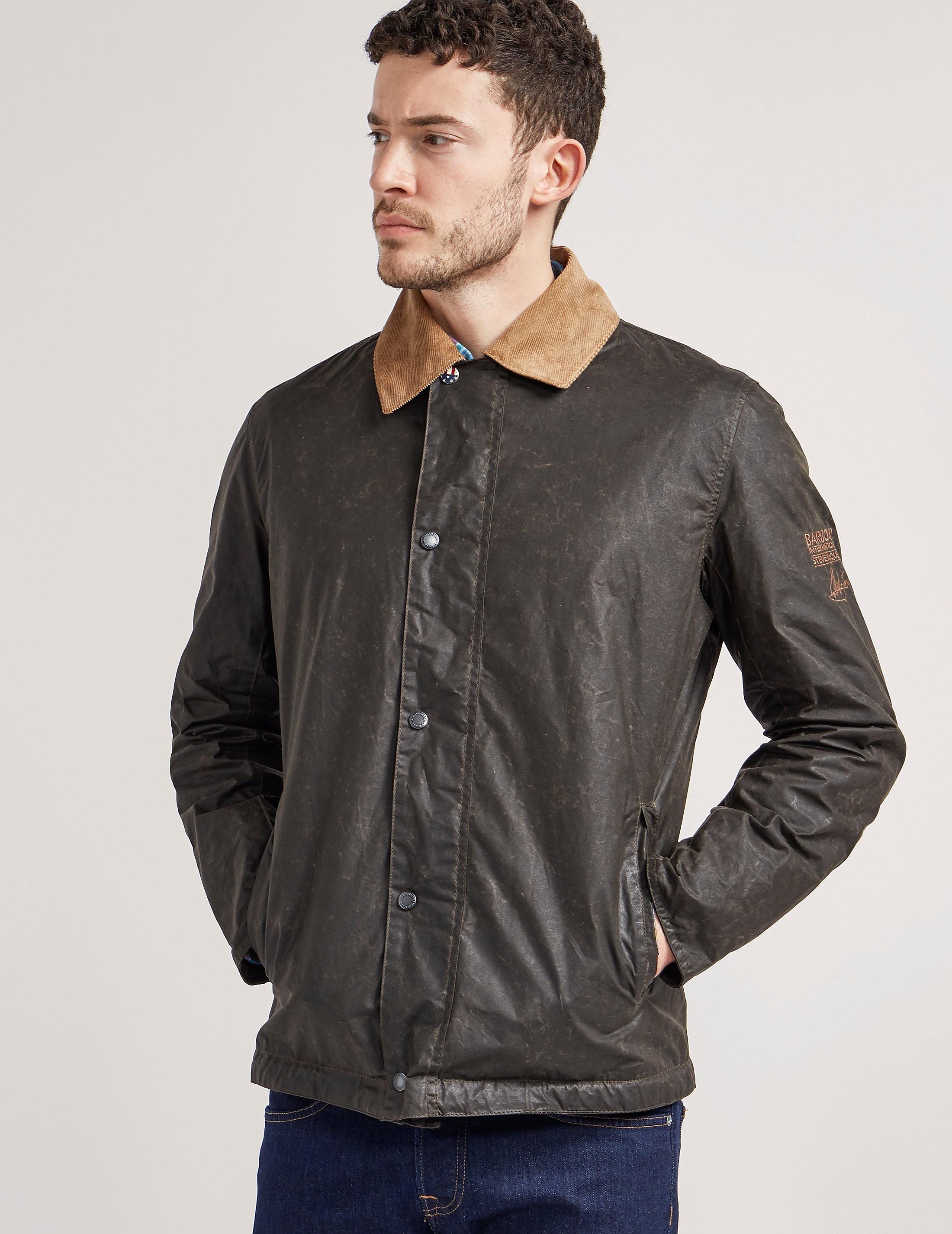 Barbour International Steve McQueen Tread Wax Jacket