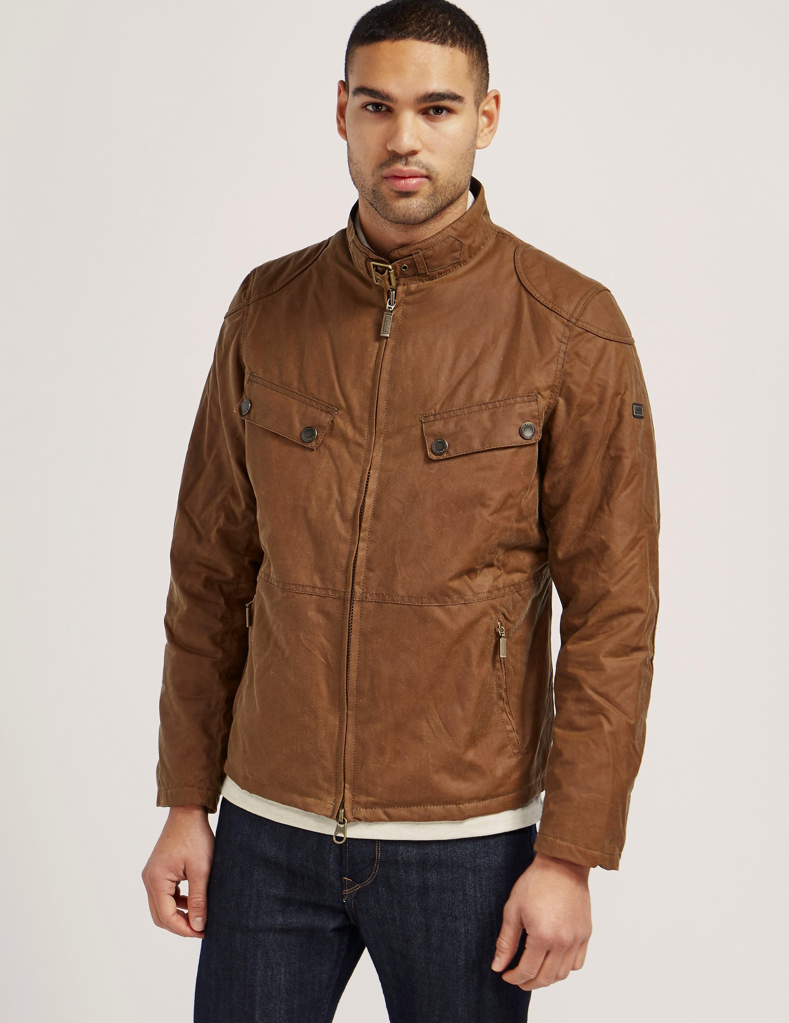 Barbour International Valve Wax Jacket