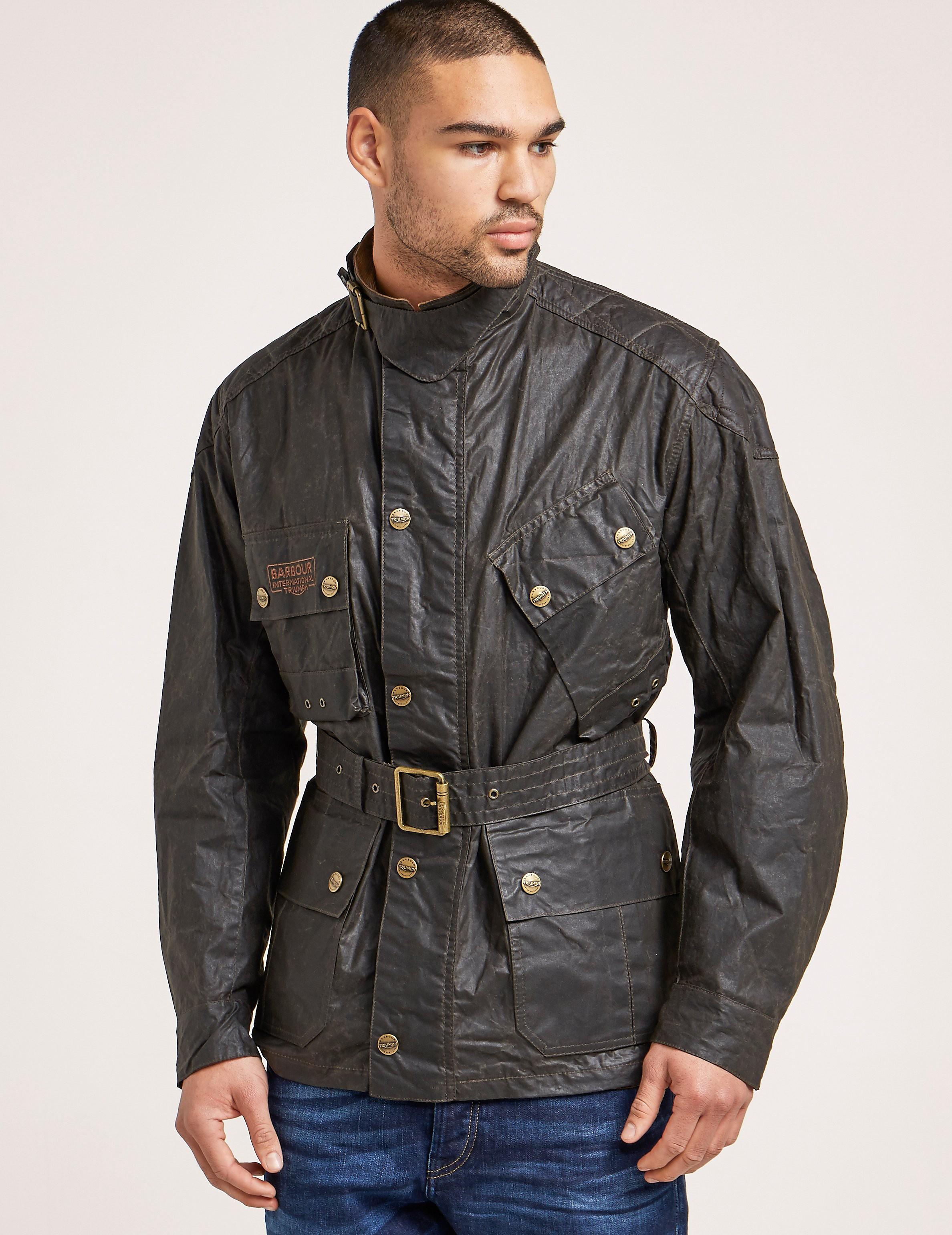 Barbour International Minerva Wax Jacket