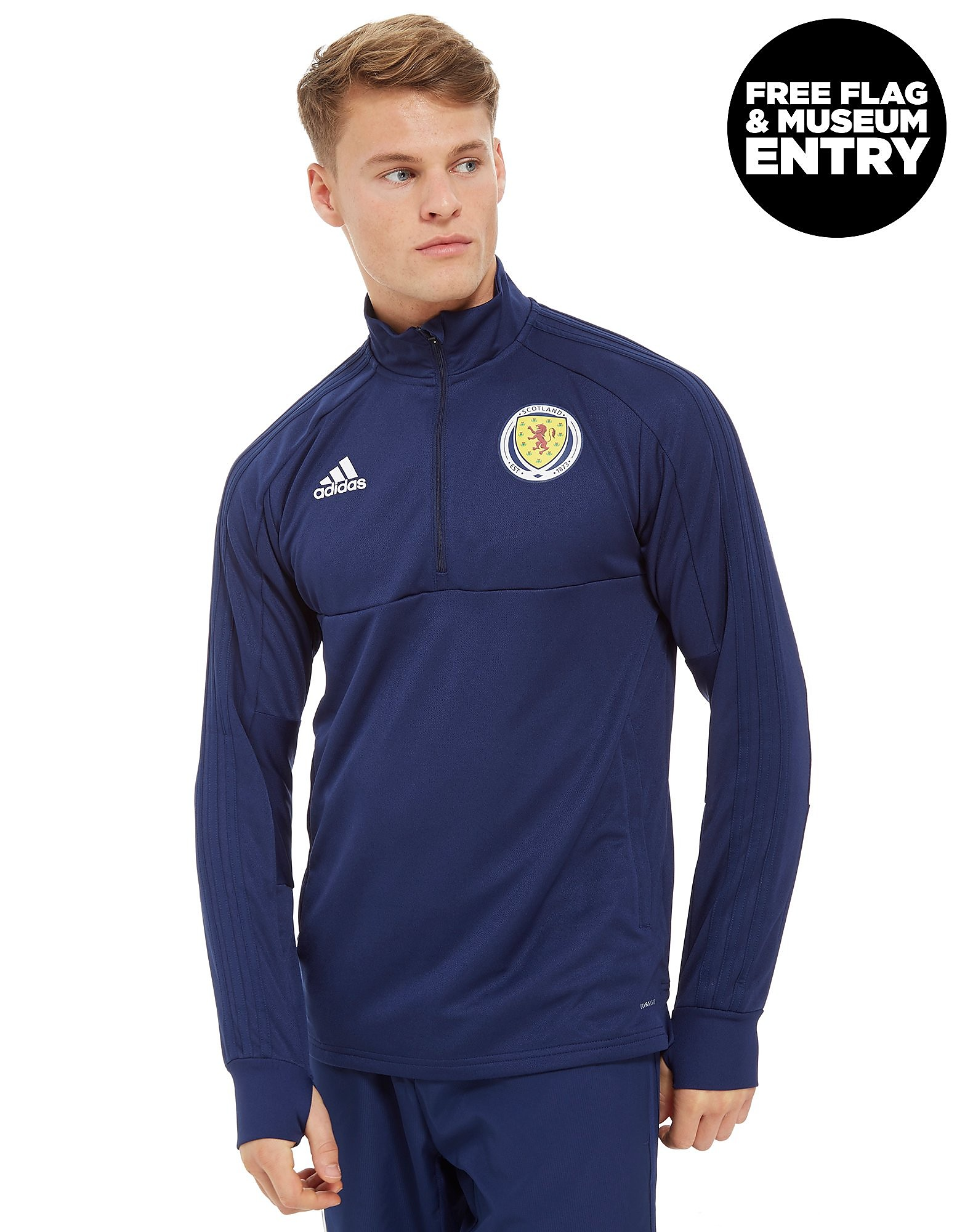adidas Scotland FA 2018 Half Zip Top