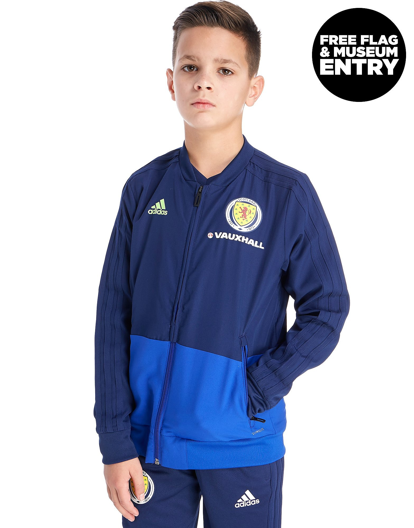 adidas Scotland FA 2018 Presentation Jacket Junior