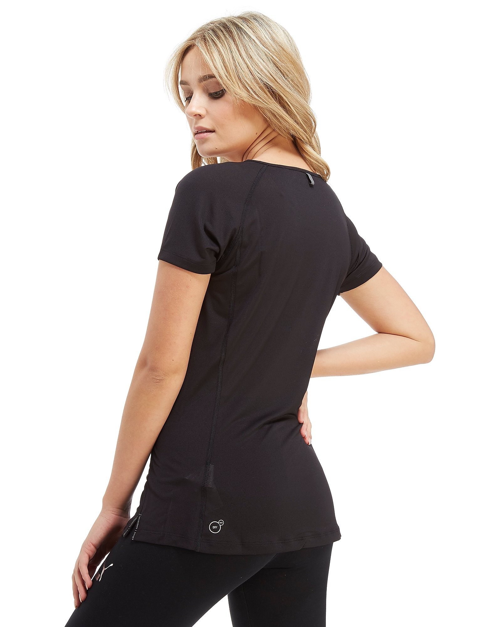 PUMA Core Run Short Sleeve Logo T-Shirt