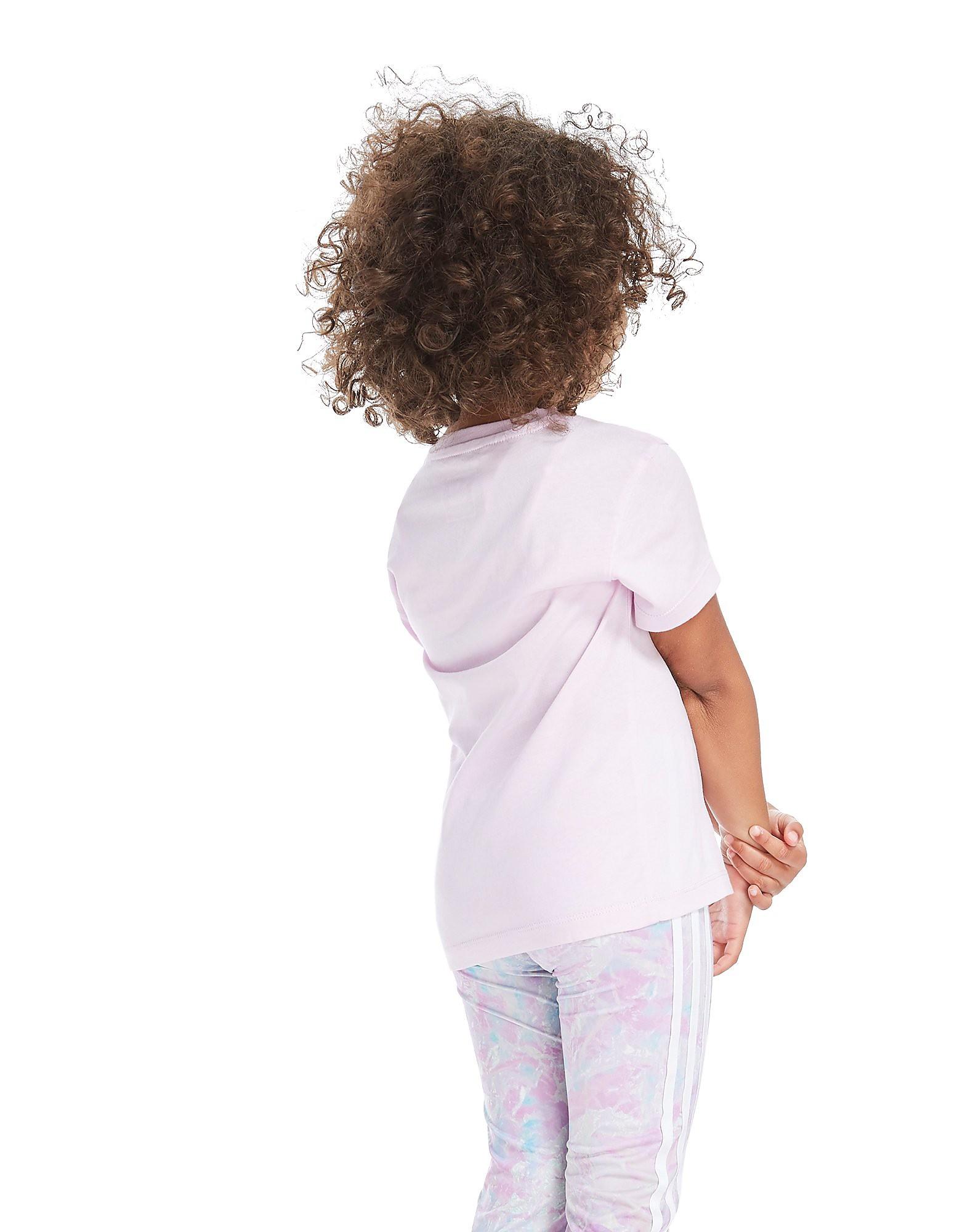 adidas Originals Girls' Trefoil T-Shirt Children