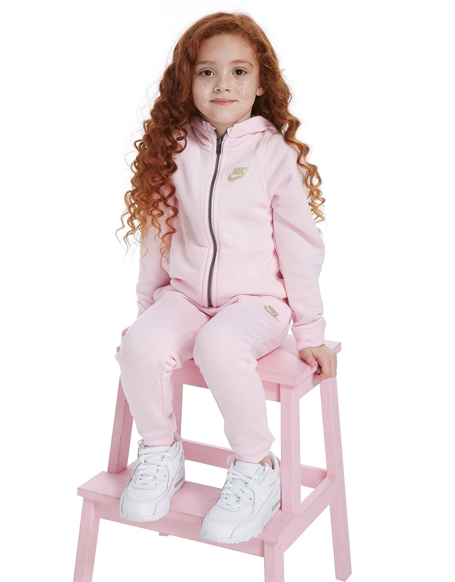 Nike Girls' Modern Full Zip Suit Children