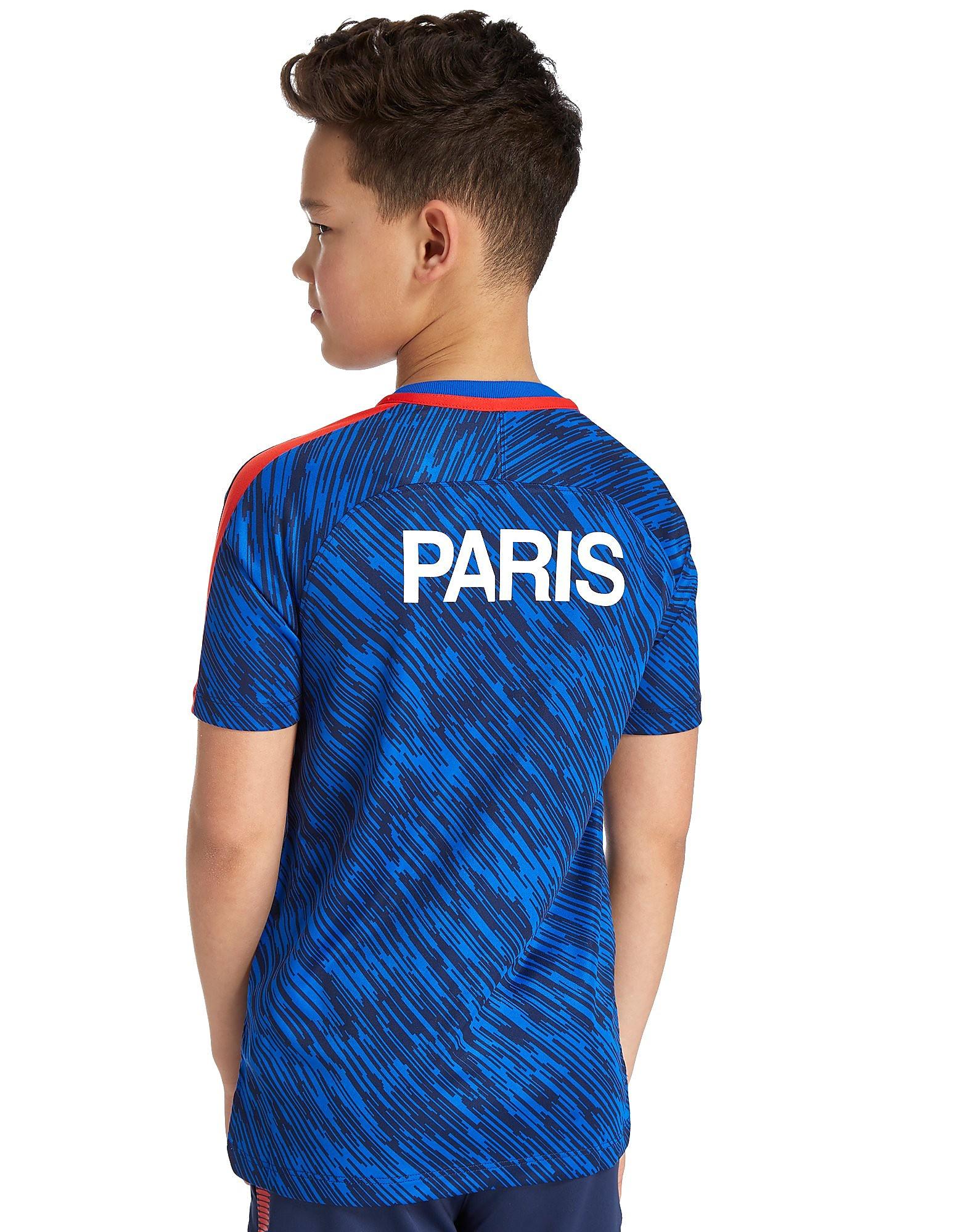 Nike Paris Saint Germain Squad Pre Match Shirt Junior