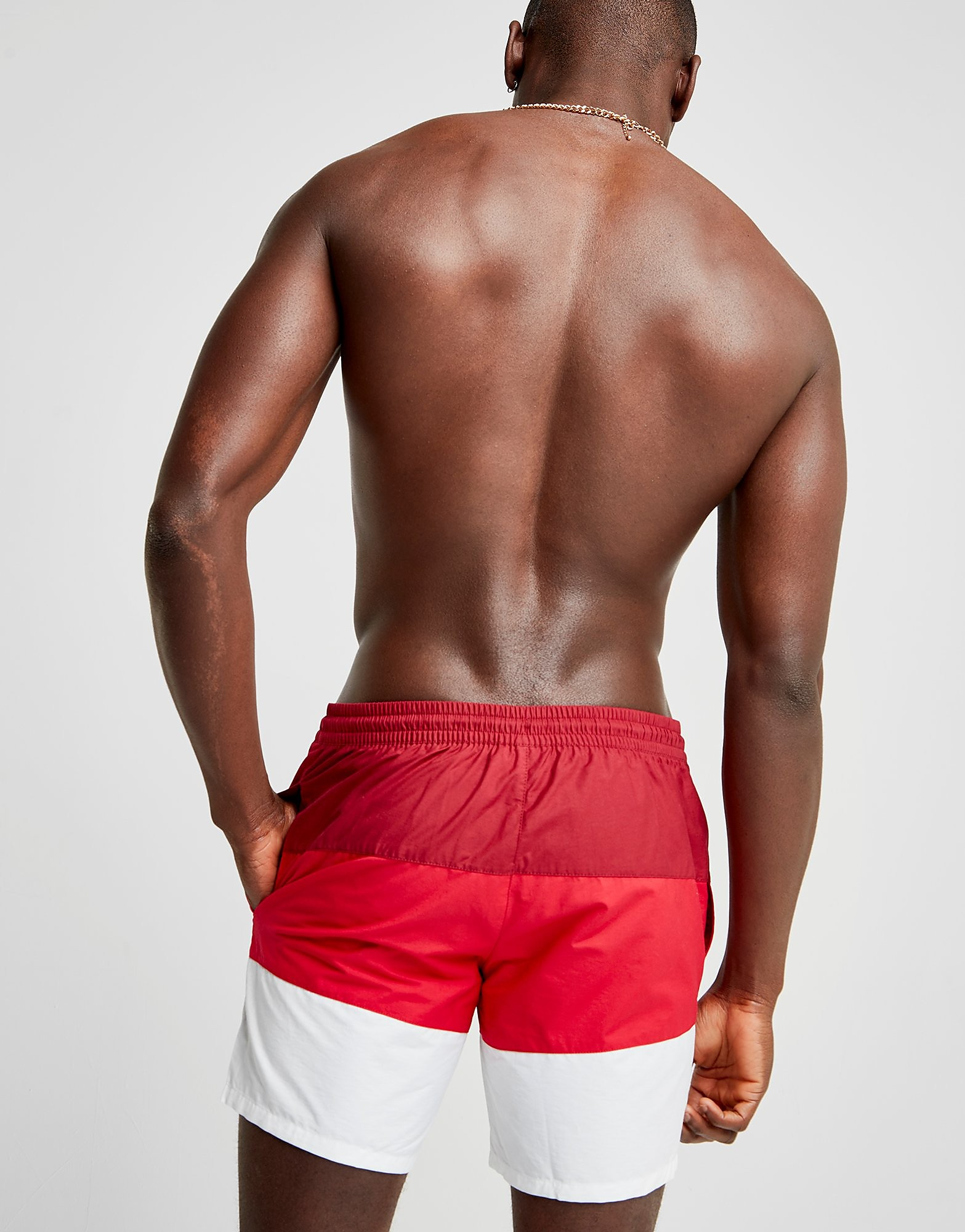 Lacoste Colour Block Swim Shorts