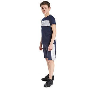 2585e4f63d5d ... Emporio Armani EA7 Panel Fleece Shorts Junior