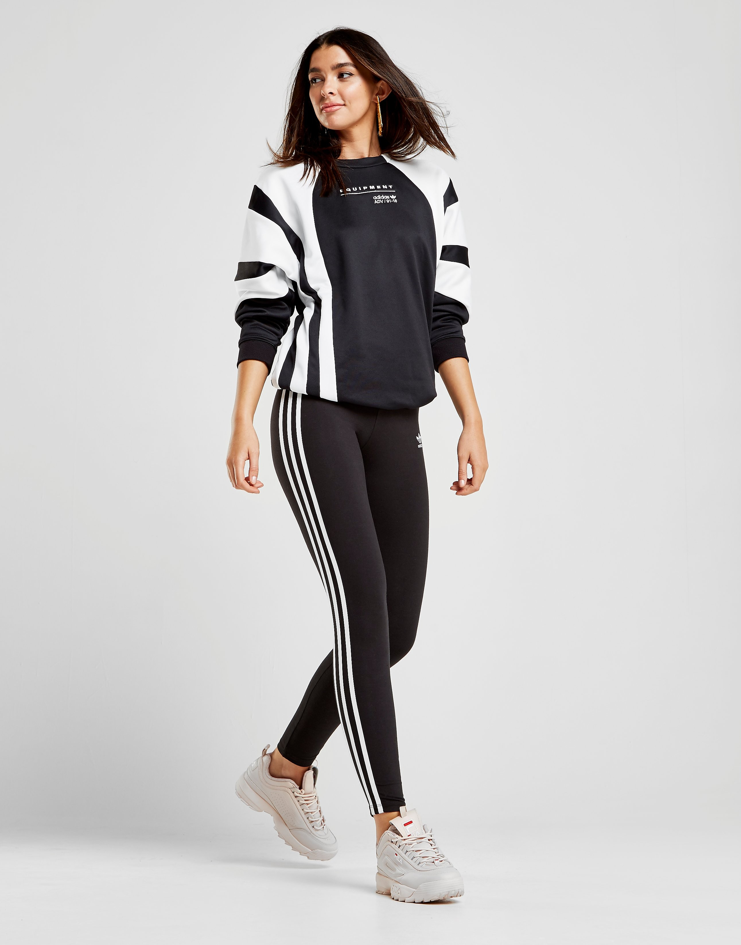 adidas Originals EQT Colourblock Crew Sweatshirt