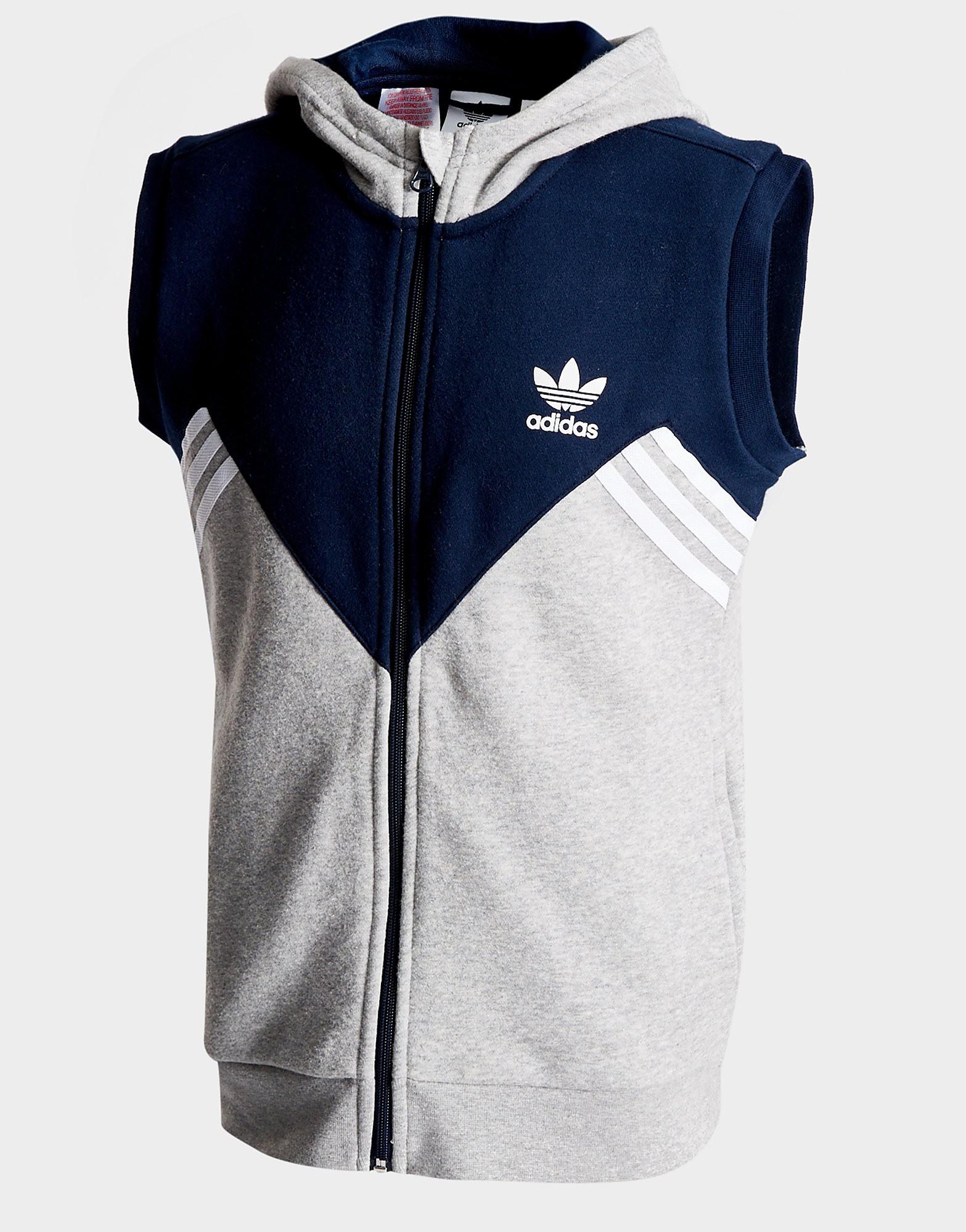 adidas Originals Moa Sleeveless Full Zip Hoodie Junior
