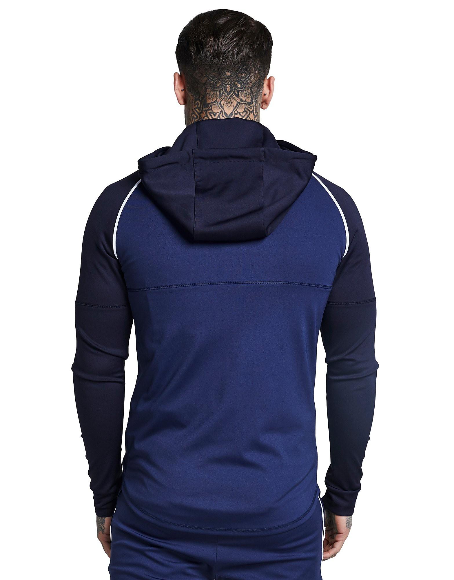 SikSilk Zonal Zip Through Hoodie