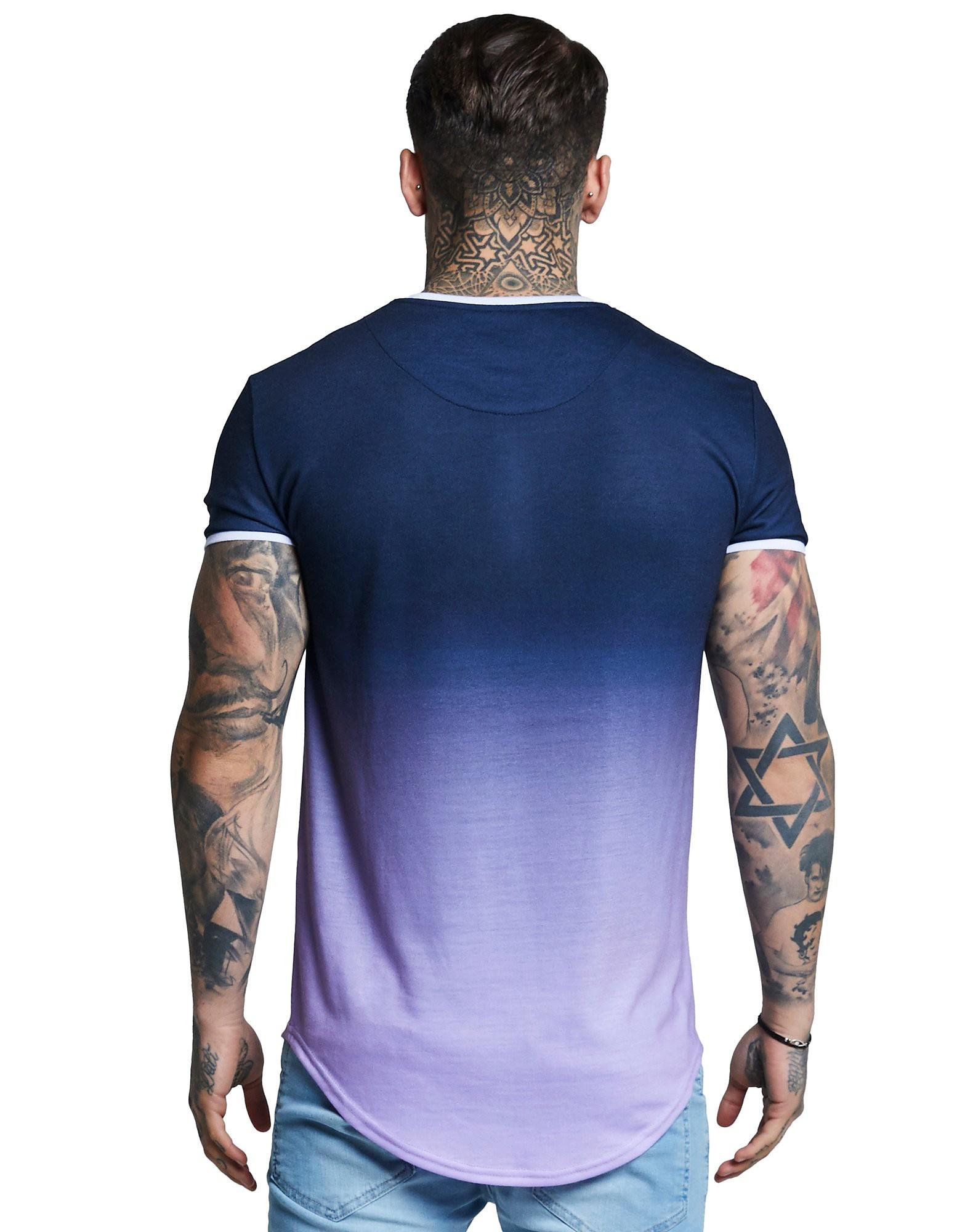SikSilk Ringer Fade T-Shirt