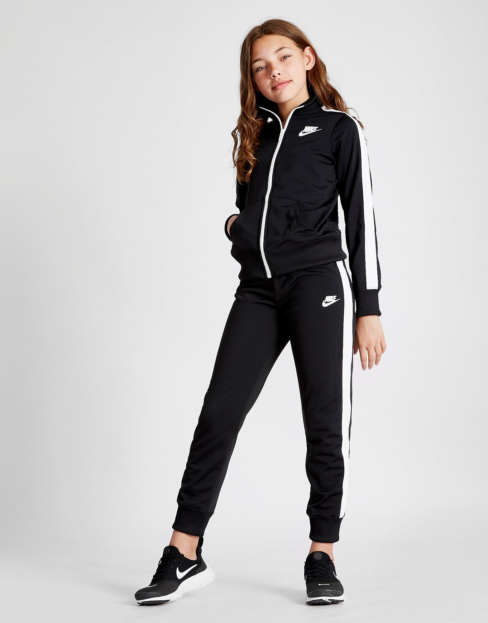 Nike Girls' Poly Track Suit Junior