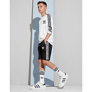 ... adidas Originals 3-Stripes Poly Shorts Junior 9ada25001