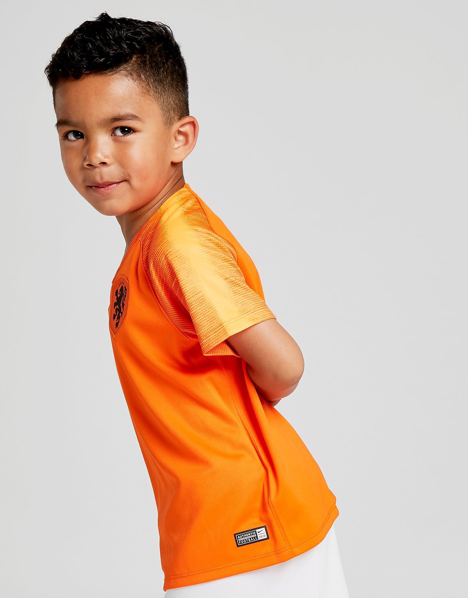 Nike Holland 2018 Home Kit Children
