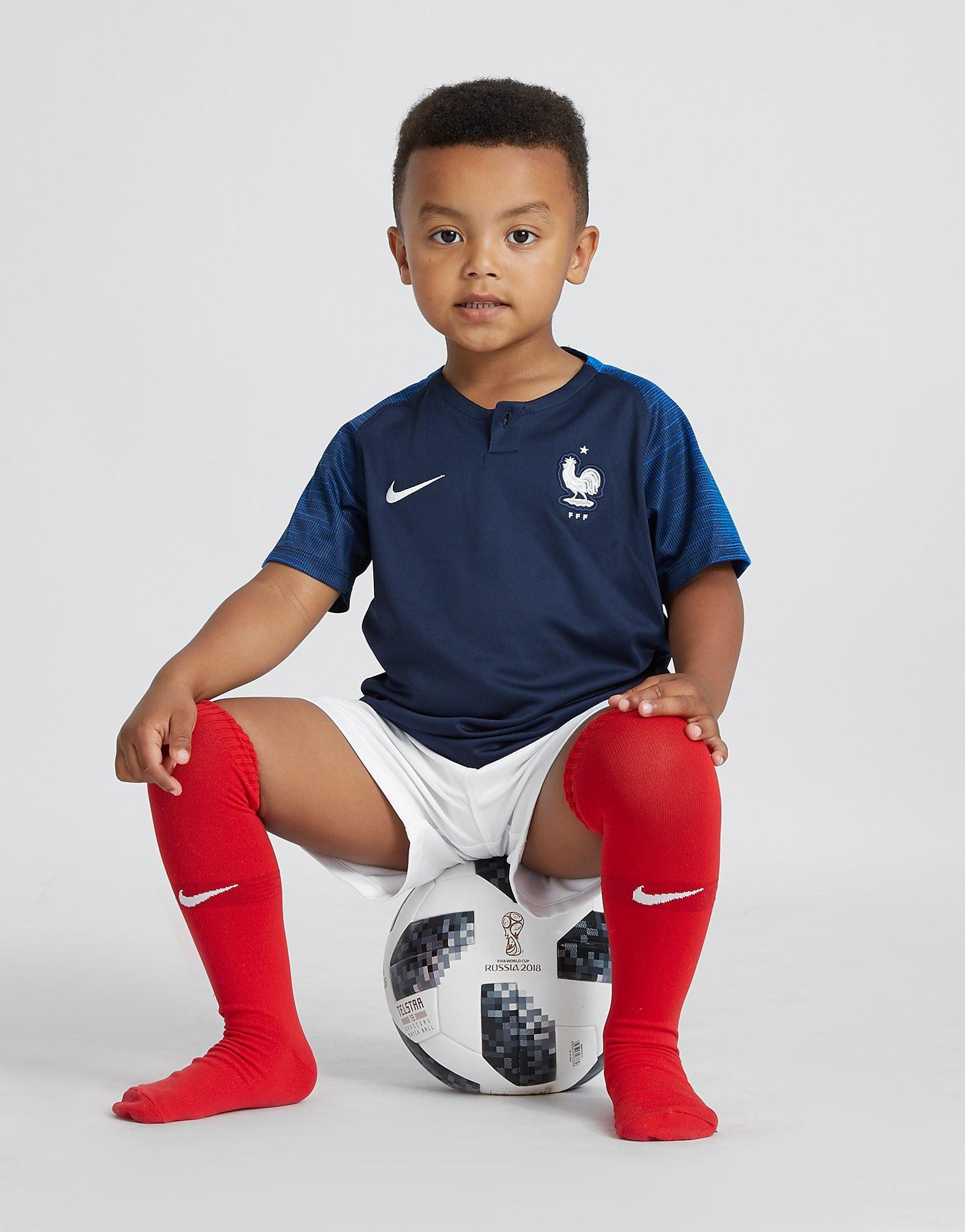 Nike France 2018 Home Kit Children
