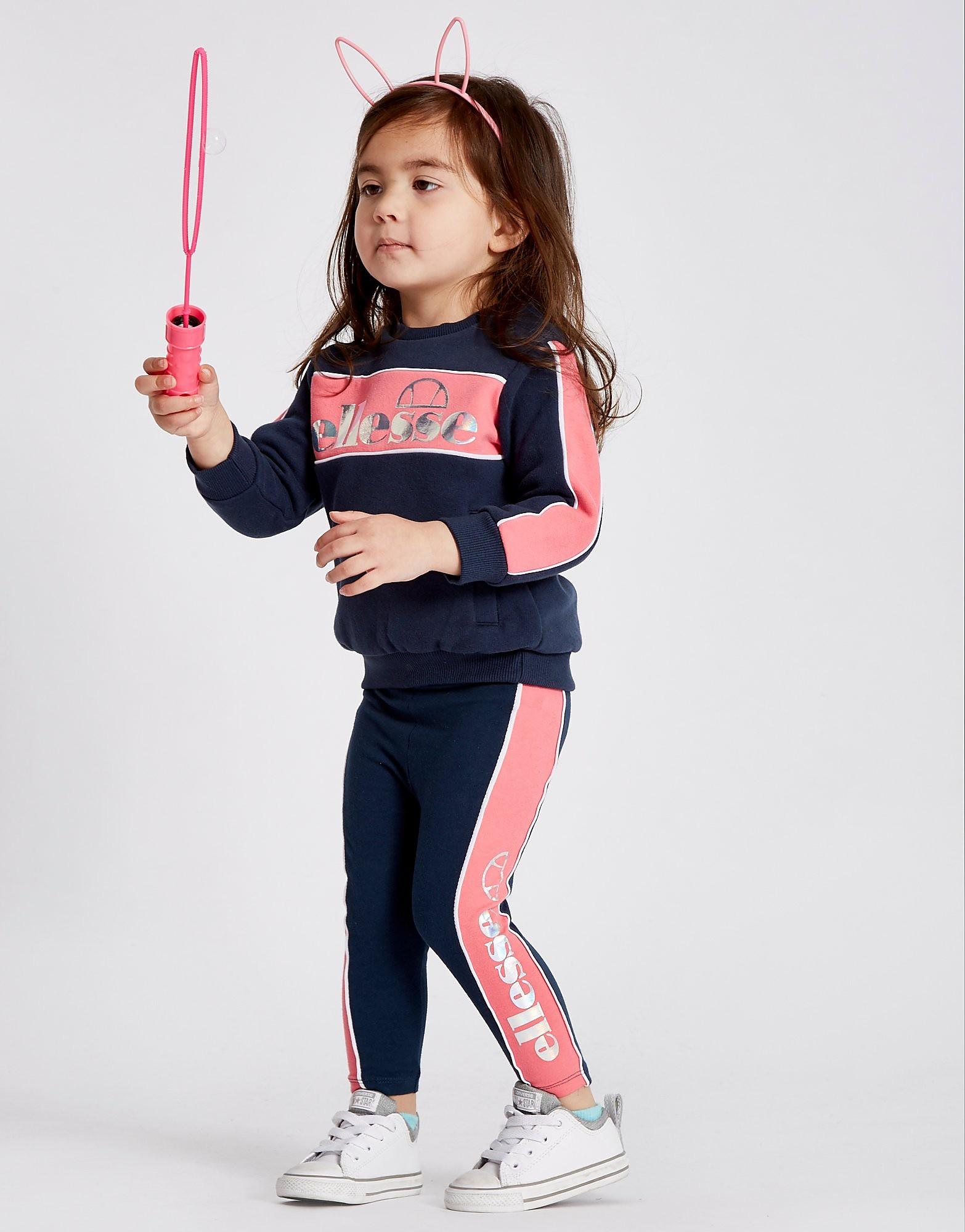 Ellesse Girls' Fabia Crew/Leggings Set Infant
