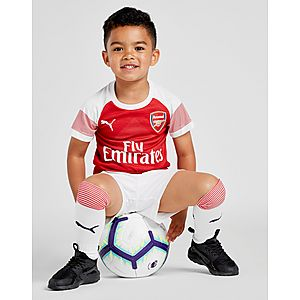 PUMA Arsenal FC 2018 19 Home Kit Children ... 3c25ce604
