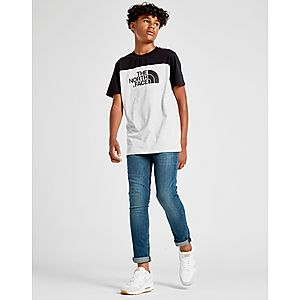... The North Face Colour Block T-Shirt Junior 606900d1297f7