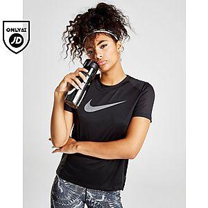 3dcaa9bd3c1a0 Nike Running Miler Short Sleeve T-Shirt ...