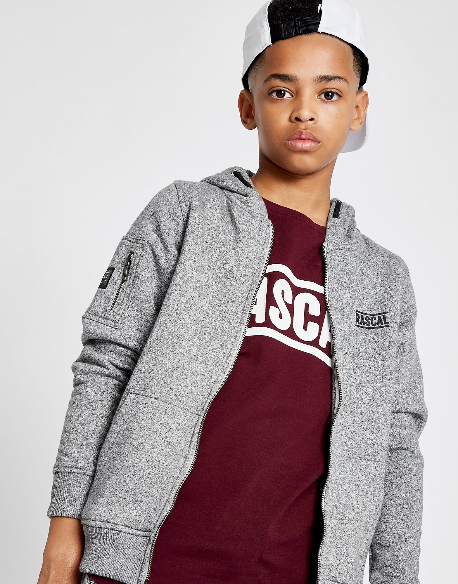 Rascal Essential Full Zip Hoodie Junior