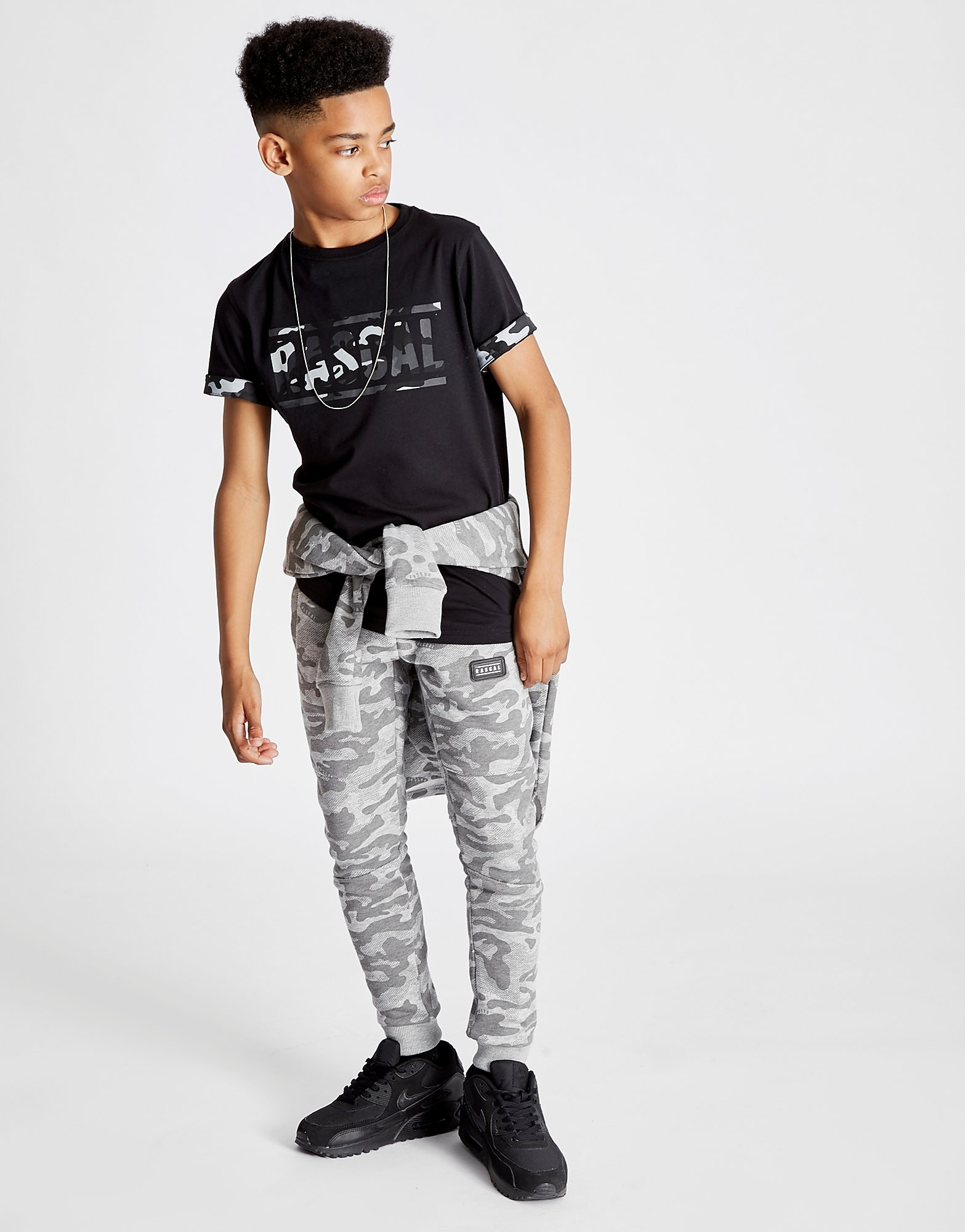 Rascal Camo Infill T-Shirt Junior