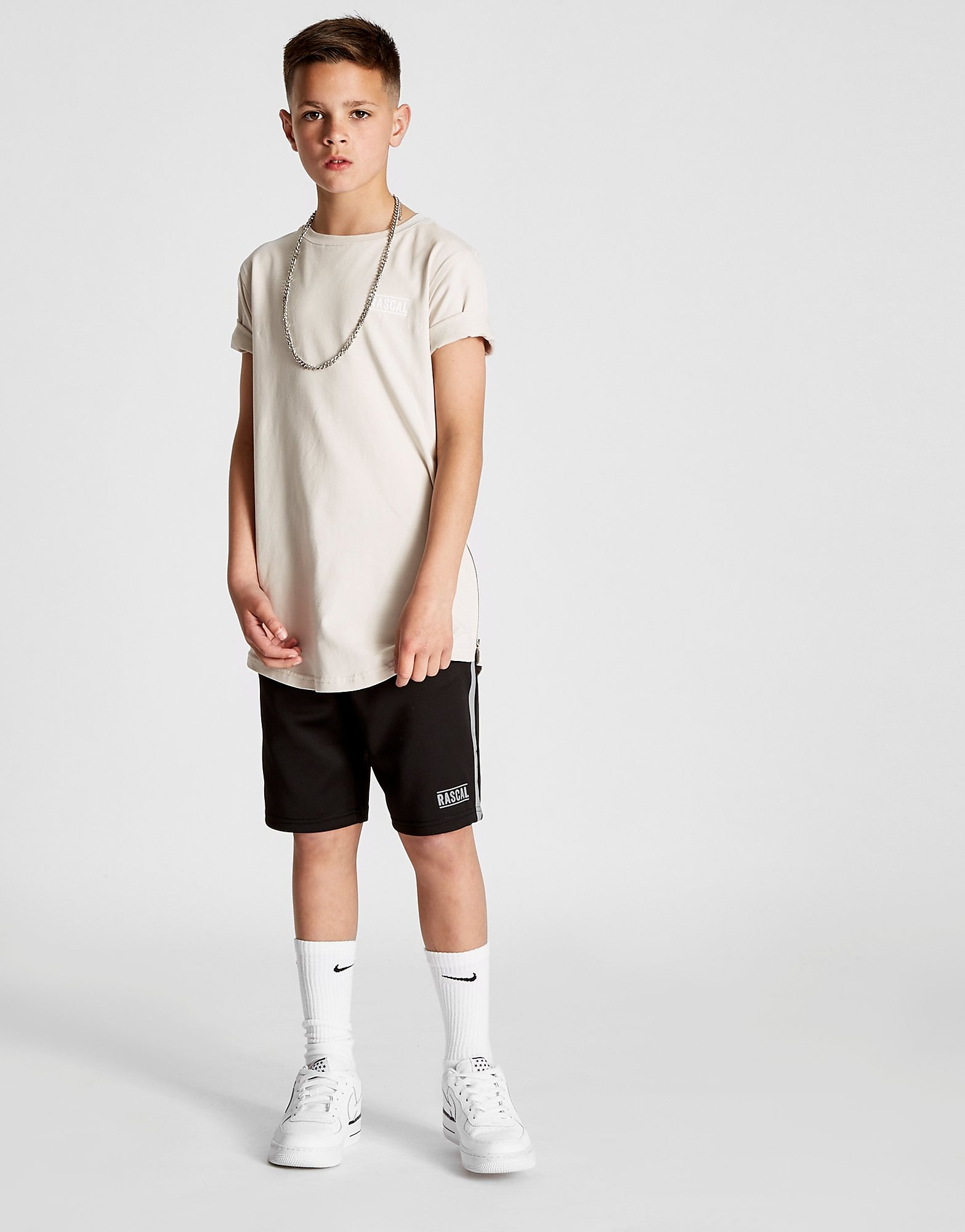 Rascal Excel Side Zip T-Shirt Junior