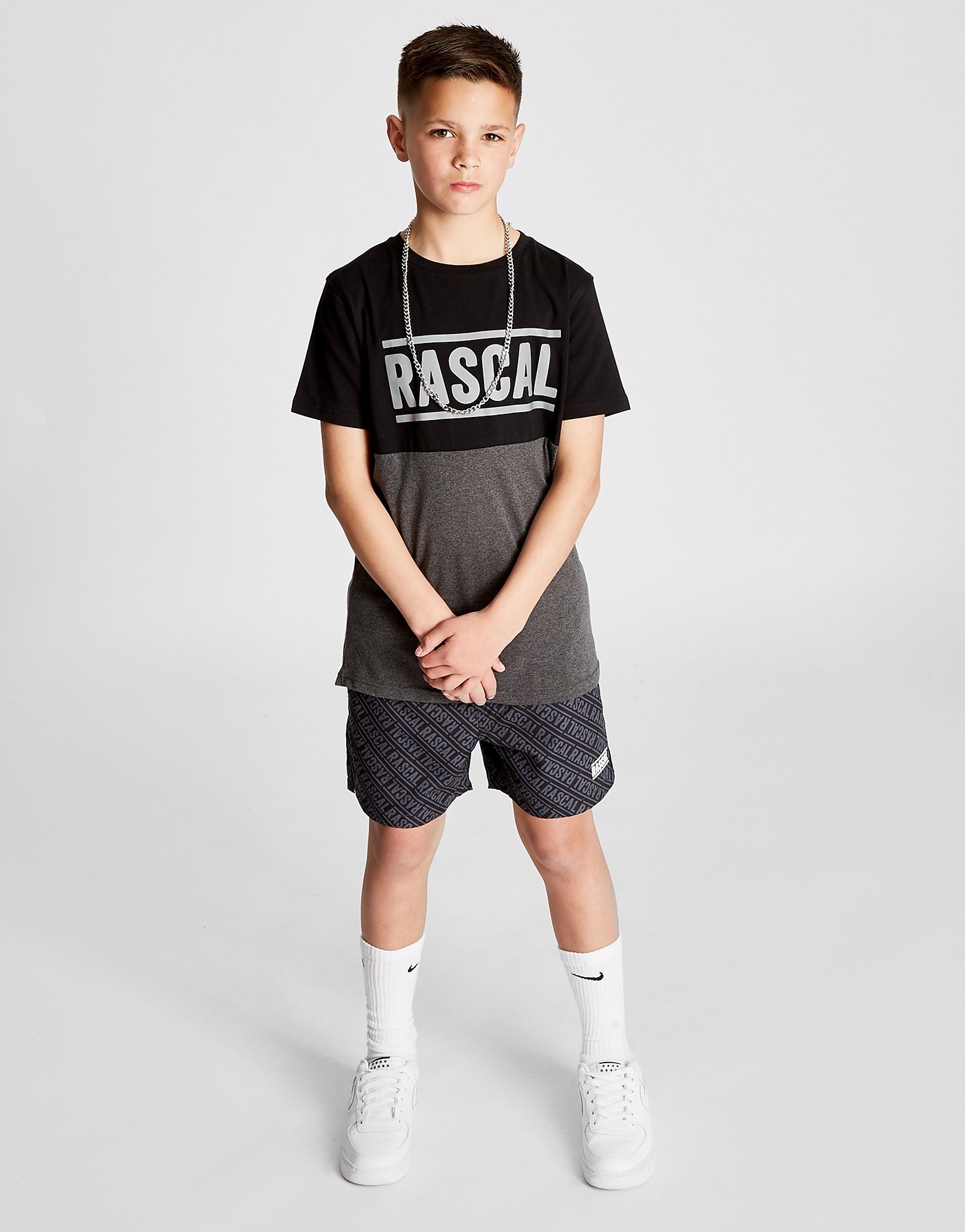 Rascal Laguna Colour Block T-Shirt Junior