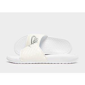 new product 34021 339df Nike Benassi Just Do It Slides Women s ...