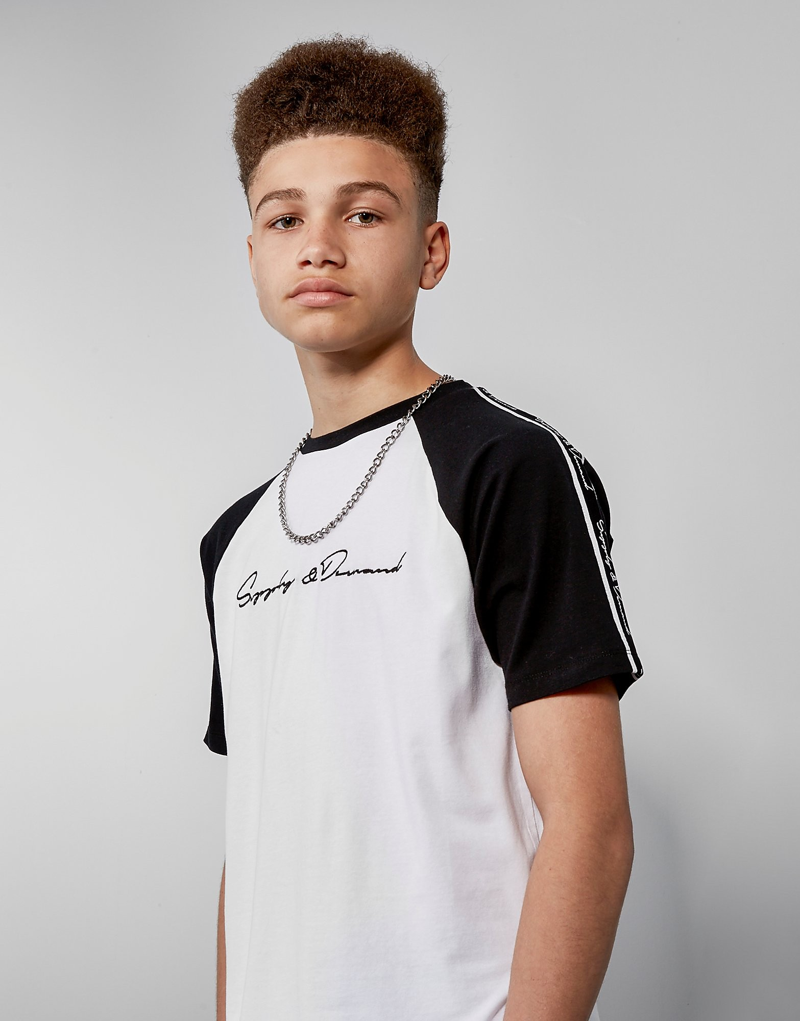 Supply & Demand Tape Raglan T-Shirt Junior