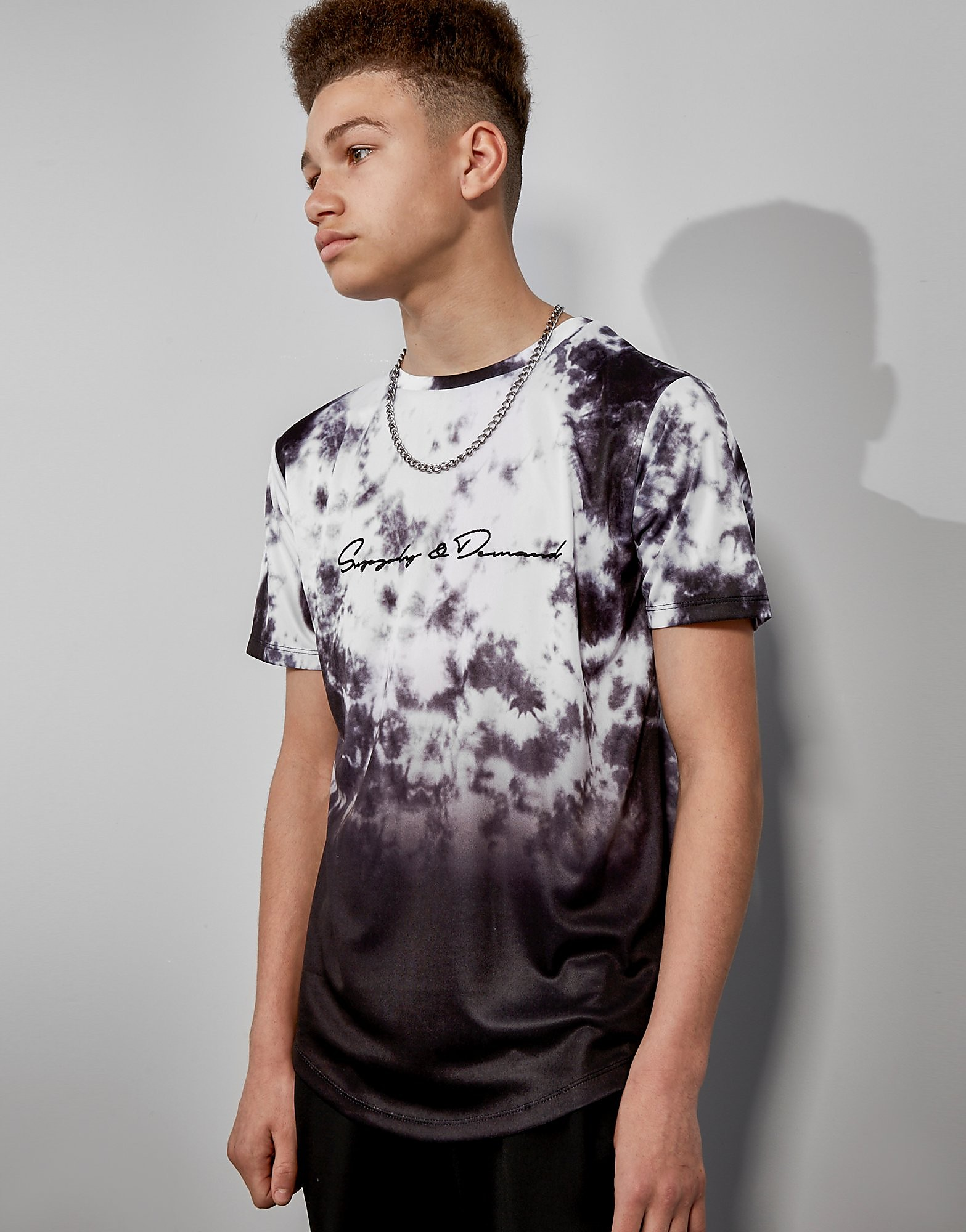 Supply & Demand All Over Fade T-Shirt Junior