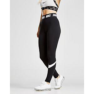 Nike High Waisted Swoosh Leggings Nike High Waisted Swoosh Leggings 2487519bc3d