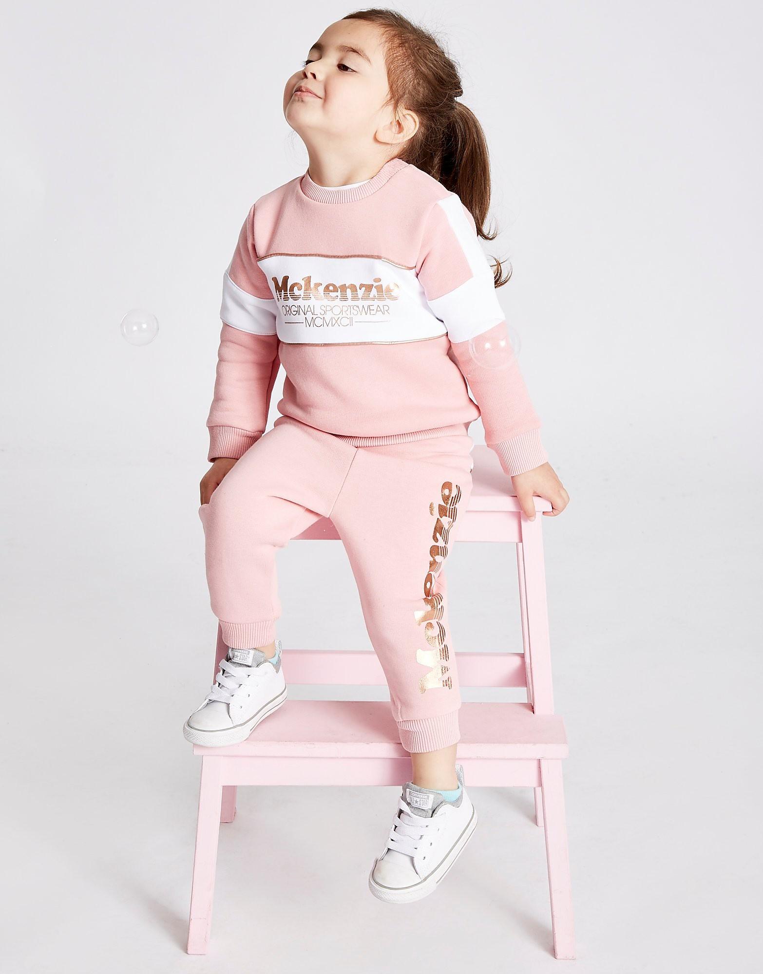 McKenzie Girls' Elsie Fleece Suit Infant