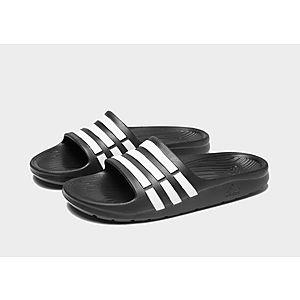 adidas Performance Kids Duramo Slide Sandal adidas Kids Performance Footwear Duramo Slide K Toddler//Little Kid//Big Kid