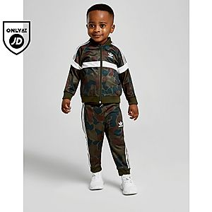 8e261619f831 adidas Originals Itasca Camo Superstar Tracksuit Infant ...