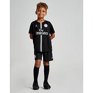 Jordan x Paris Saint Germain 2018 19 CL Home Kit Children ... d7d4938588191