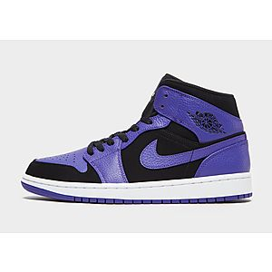 78ec718c4cd3 Jordan Air 1 Mid Black Concord ...