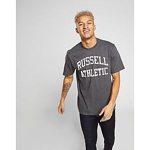 Russell Athletic Arch Logo Short Sleeve T-Shirt ... 3c04e219849c3