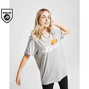 04841723ef76 Ellesse Core Boyfriend Logo T-Shirt ...