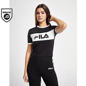 587d0000708 Fila Crop Ringer T-shirt ...