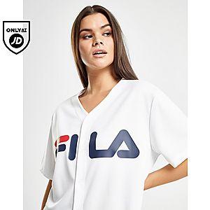 382f0b8122f8 Fila Mesh Baseball T-Shirt ...