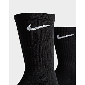 7bb7a4b342001d ... Nike 3 Pack Everyday Cushioned Crew Socks