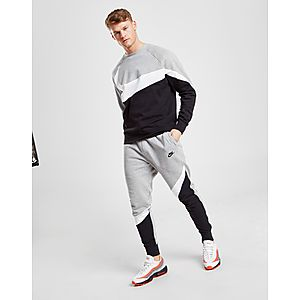 Nike Swoosh Colour Block Fleece Pants ... 0a963becec734