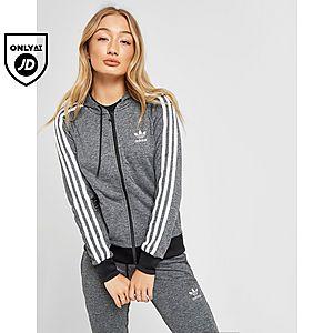 12c7f3fcb55f adidas Originals 3-Stripes Full Zip Hoodie ...