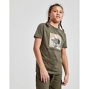 750ff7b193d1 The North Face Box Short Sleeve T-Shirt Junior ...