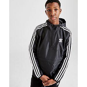 5ec36e549814 ... adidas Originals Lightweight 1 4 Zip Jacket Junior