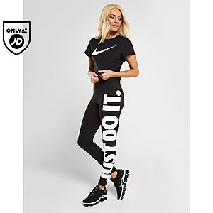 6d59fa005a ... Nike Sportswear Swoosh Short-Sleeve Crop Top